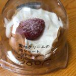 雲泡クリームの苺ショート